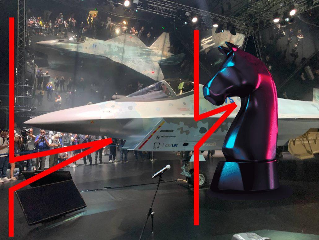Почему ЛТС Checkmate (Су-75) так назвали и причем тут конь?